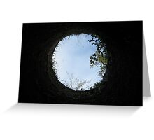 Skyview at the Blarney Castle  Greeting Card
