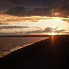 Dublin Bay Sunset by KaytLudi