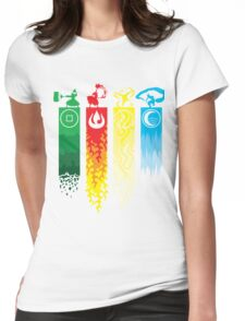 Avatar- Four Elements Womens Fitted T-Shirt