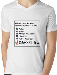 capoeira abada martial arts brasil Mens V-Neck T-Shirt