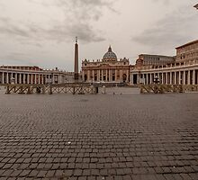 St. Peter's Square, Vatican City by fotosic