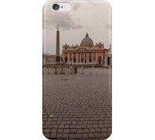 St. Peter's Square, Vatican City iPhone Case/Skin