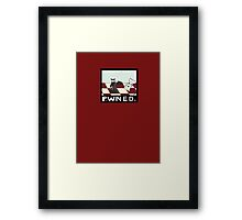 Miscreants: You Just Got PaWNED! Framed Print