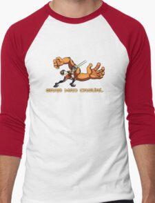Grab Mad Casual Men's Baseball ¾ T-Shirt