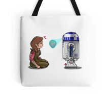 Holographic Temptation Tote Bag