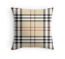 burberry Throw Pillow