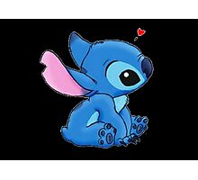 Stich loves you Photographic Print