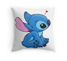 Stich loves you Throw Pillow