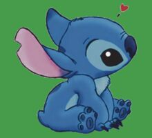 Stich loves you Kids Clothes