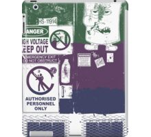 The Door To Danger iPad Case/Skin