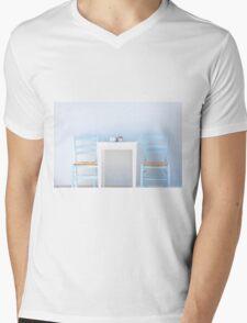 Mediterranean summer Mens V-Neck T-Shirt