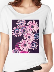 Floral patterns and shapes Women's Relaxed Fit T-Shirt