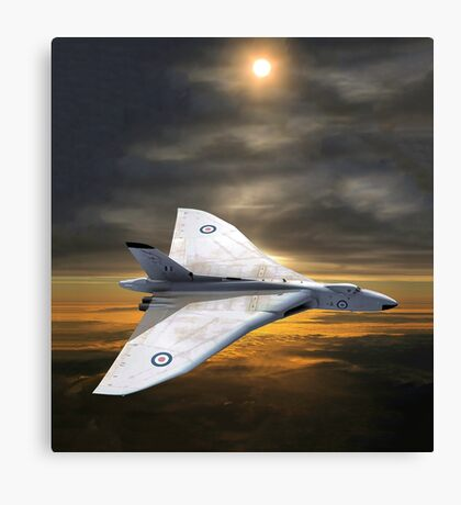 Vulcan Vee Force - Avoiding Armageddon Canvas Print