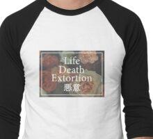 Floral L/D/E Men's Baseball ¾ T-Shirt