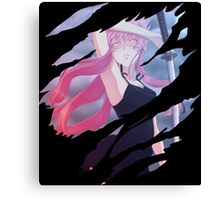 Yuno Gasai Anime Manga Shirt Canvas Print