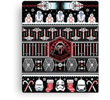 Star Awakens Wars Christmas Canvas Print