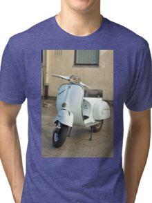 Vespa white Classic Tri-blend T-Shirt