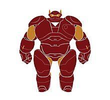 Baymax (Iron Man Armored) Photographic Print