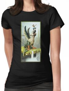 The Last Guardian V.1 Womens Fitted T-Shirt