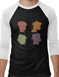 Gorillaz Music Band Men's Baseball ¾ T-Shirt