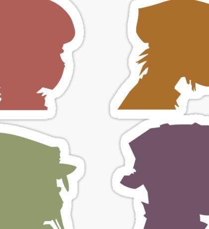 Gorillaz Music Band Sticker