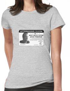 Meth Tutor Womens Fitted T-Shirt