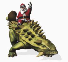 Santa Claus Riding A Talarurus by Mythos57