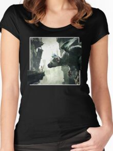 The Last Guardian V.2 Women's Fitted Scoop T-Shirt