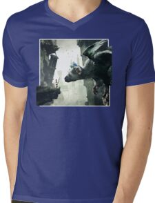 The Last Guardian V.2 Mens V-Neck T-Shirt