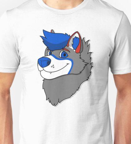 Vakeri Husky Headshot Unisex T-Shirt
