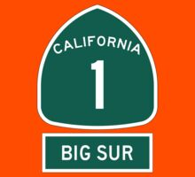 PCH - CA Highway 1 - Big Sur Kids Clothes