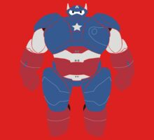 Baymax (Captain America Armored) Kids Clothes