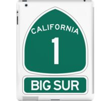 PCH - CA Highway 1 - Big Sur iPad Case/Skin