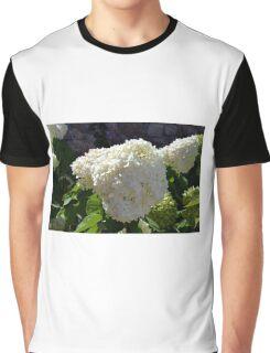 Beautiful white large round flower Graphic T-Shirt