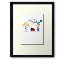 Ben and Holly's Little Kingdom Framed Print