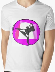 karate Mens V-Neck T-Shirt