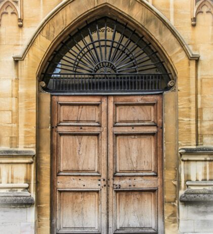 Behind the Doors of Oxford Sticker