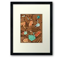 Cat heaven Framed Print