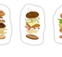 Burger menu Sticker