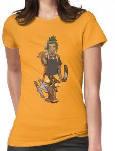 Hau + Malasadas Womens Fitted T-Shirt
