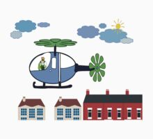 The Helicopter Baby Tee
