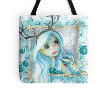 An angle for Christmas... Tote Bag