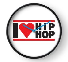 I Love Hip Hop Gift Collection Clock