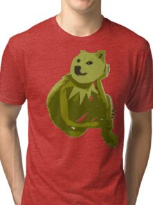 Kermit the Froge Tri-blend T-Shirt