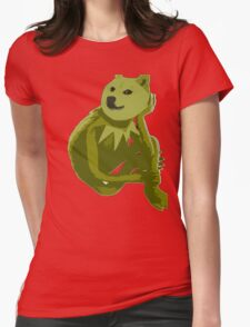 Kermit the Froge Womens Fitted T-Shirt