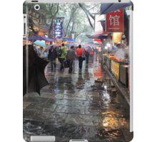 Famous Muslim Quarters  Xi'an China iPad Case/Skin