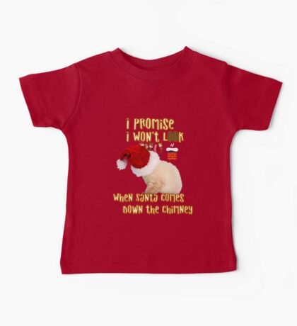 Cat Christmas Gifts for People a Cute Kitten Gift idea Baby Tee