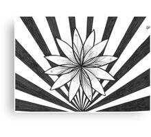 Flower burst #1 Canvas Print