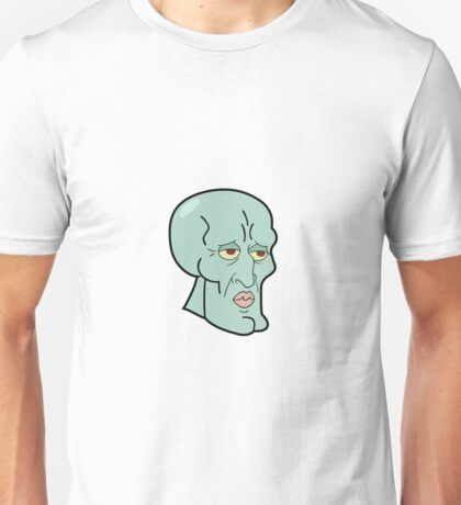 Meme squidward Unisex T-Shirt
