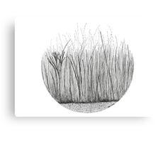 Grass circle #2 Canvas Print
